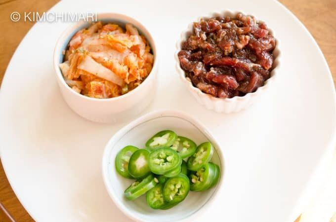Bulgogi Kimchi Pasta (Spaghetti or Linguine) - GF | Recipe ...