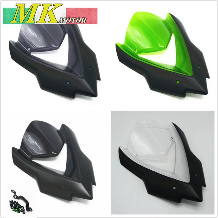 Windscreens for Kawasaki Z1000 2014 2015 2016 Windshield Z1000 Wind Deflectors Motorcycle Parts
