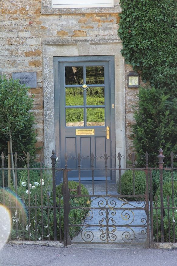 Dianna's door in F&B Downpipe, Hendy Curzon Gardens front of house project.