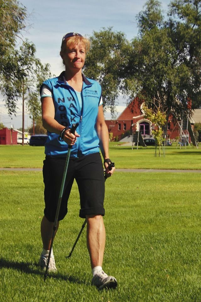 Nordic Pole Walking! I've been a Certified Instructor since 2005 and I offer…