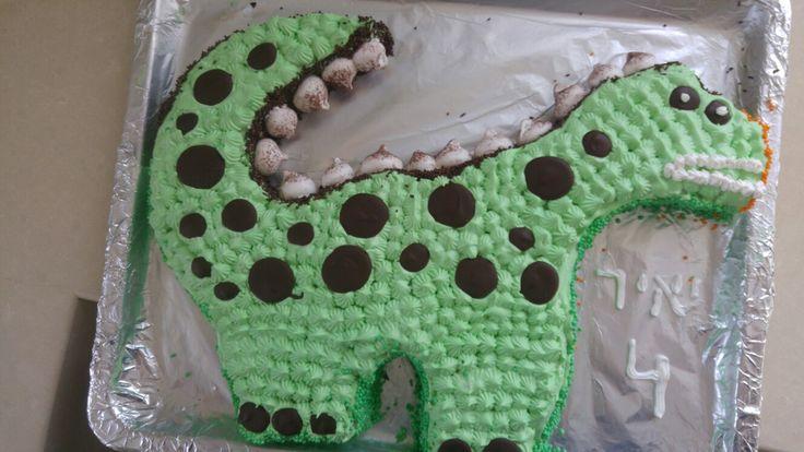 Dinozaur cake