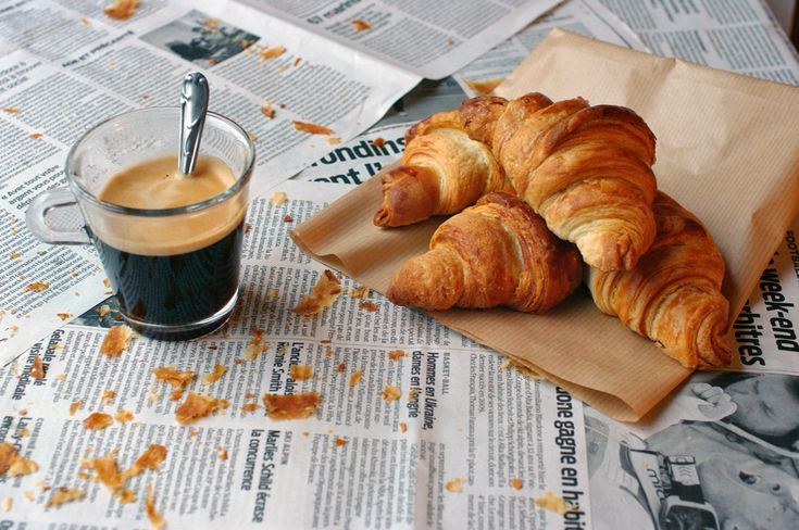 XO................You have never tasted anything so delicious as a fresh, warm french crossant with a cup of cafe au lait.     OMG