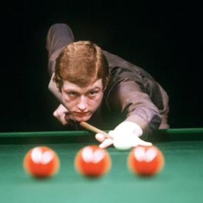 1987 - Steve Davis, Snooker World Champion 1981, 1983, 1984, 1987, 1988 and 1989