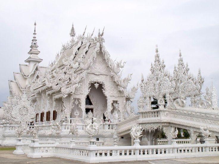 Wat Rong Khun - буддийский храм в Таиланде: sofyapremudraya