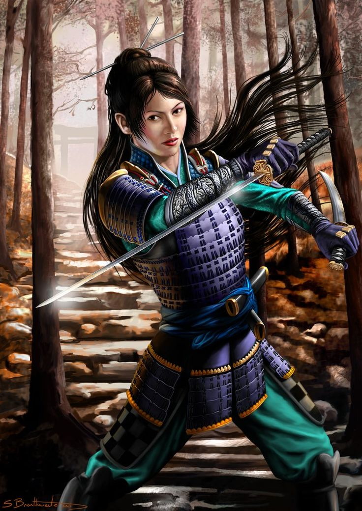 samurai women Depictions of some of the earliest samurai women of japan, including the  empress jingu, who lead an invasion of korea in the second century.