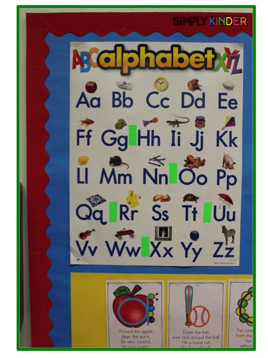 Alphabet Formation Poems - Simply Kinder
