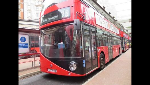 London Buses Route 73 Operate by Arriva London (SF Garage) Wrightbus New Routemaster LT540 LTZ1540 Filmed on 21st September 2015