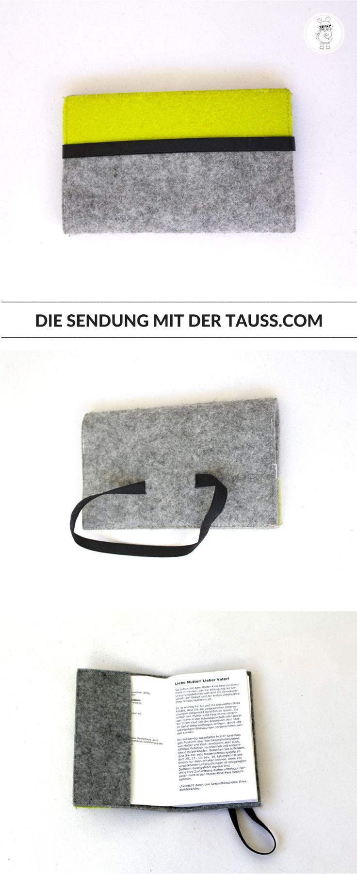 DIY Mutter-Kind-Pass Hülle