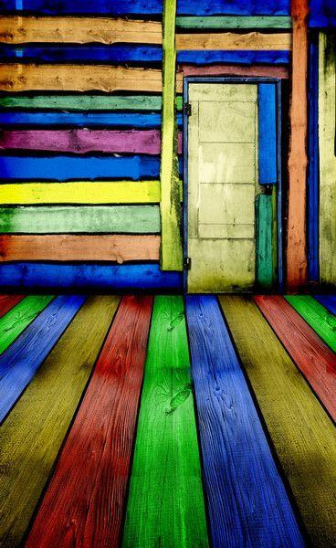 Photo Background Studio Backdrop Fabric Backdrops 220Cm * 150Cm Multicolor Wooden Floor Nd Walls Doors