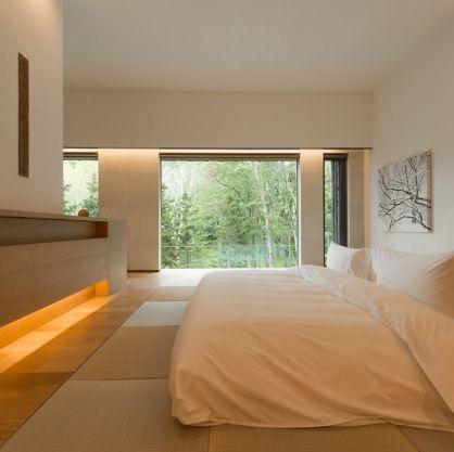 Futon | Washitsu Guest Villa | Zaborin Ryokan 座忘林 zaborin.com
