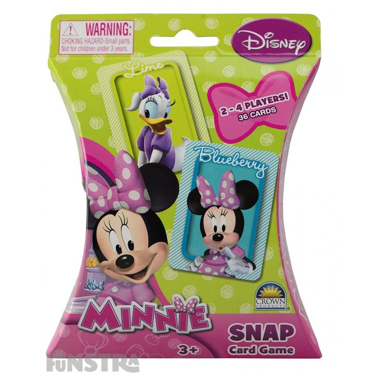 Minnie Snap Card Game from Funstra Toys