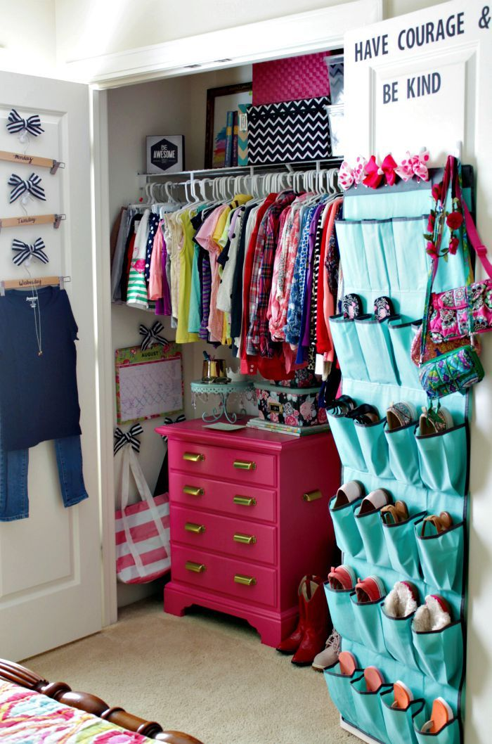 Best 25 Teen Closet Organization Ideas On Pinterest
