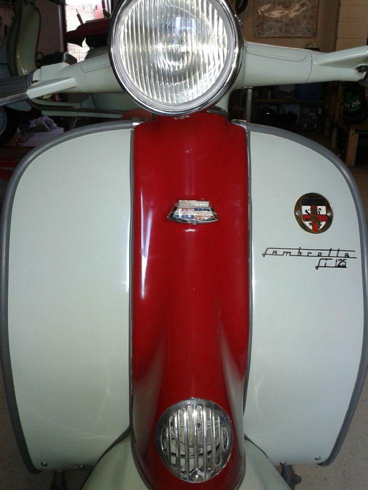 Lambretta Innocenti, Li 125 series 2, 1960.   eBay
