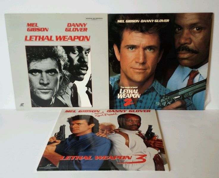 Lot of Lethal Weapon 1-2-3 Laserdisc Mel Gibson Danny Glover Action Widescreen | DVDs & Movies, Laserdiscs | eBay!