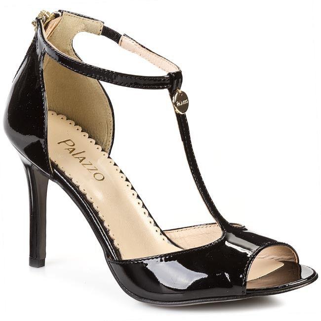 Sandály PALAZZO - 219/O-6L-N Černá