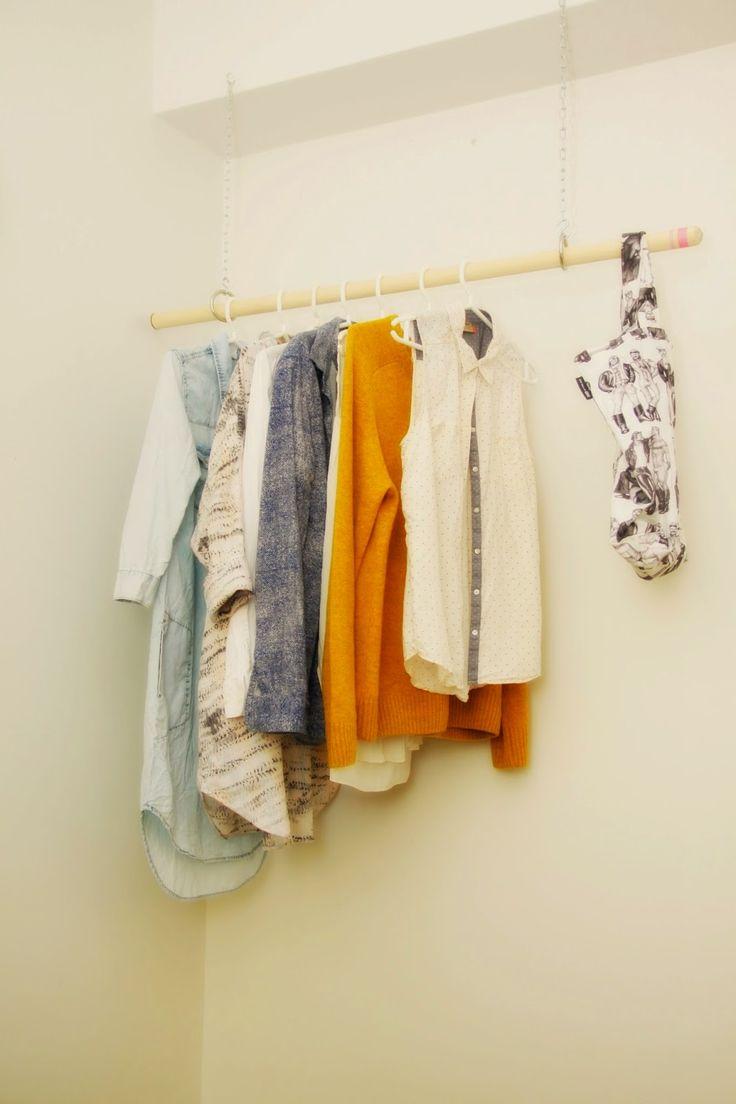 Meidän Pieni Ryyni: DIY- vaaterekki
