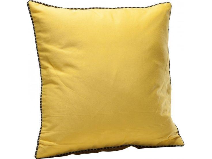 Poduszka Cord żółta — Poduszki Kare Design — sfmeble.pl #yellow #design