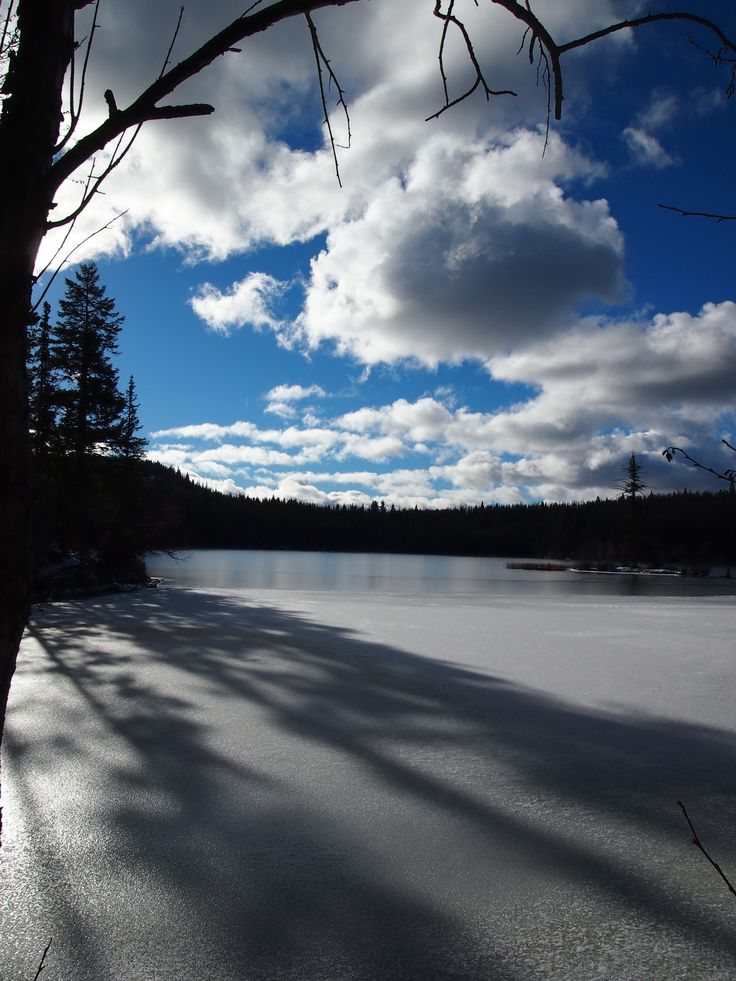 McConnell Lake, Kamloops, BC, Canada. November 2012
