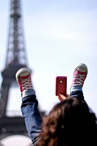 I'm glad I'm not the only weird one who takes pictures of my shoes, but this is inspired. ~~~ Pink! by @Jose Pont Pla