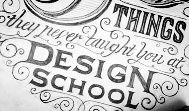 Article: Good Advice for Interior Design Students / Image Source: Behance