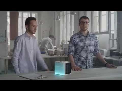 Evapolar: incrível ar condicionado portátil funciona com água [vídeo] - TecMundo
