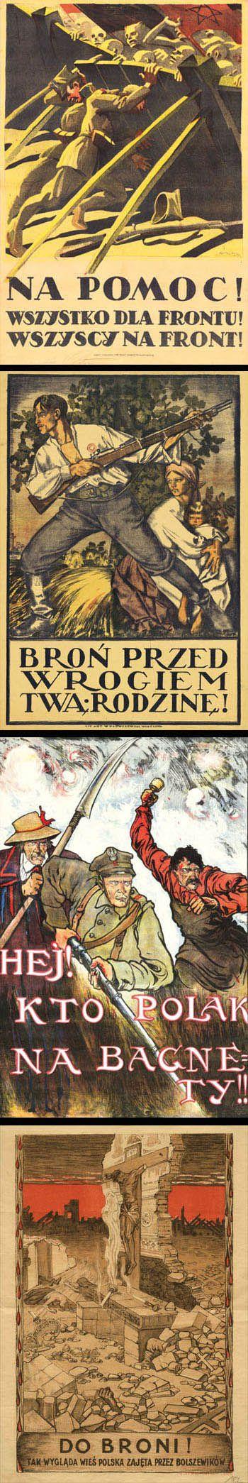 plakat_propagandowy_wojna_polsko_bolszewicka_1920_design_po_polsku