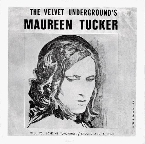 """Maureen Tucker 7""""."""