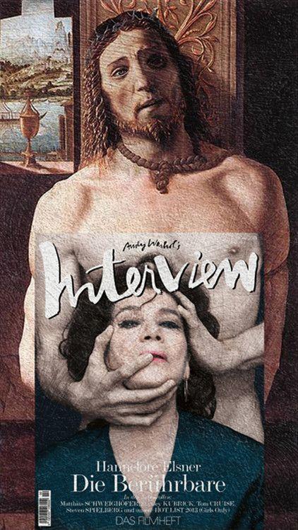 Des couvertures de magazines sur des peintures classiques couverture magazine mode peinture celebre 16