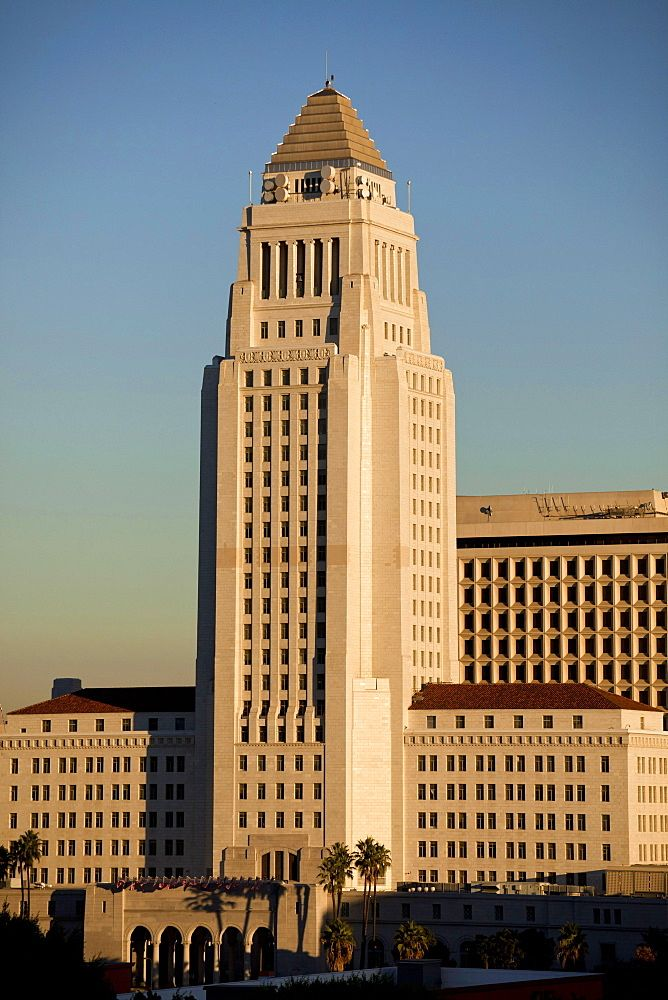 Los Angeles City Hall The Real Superman Building Neoclassical Architecture Art Deco Buildings Building