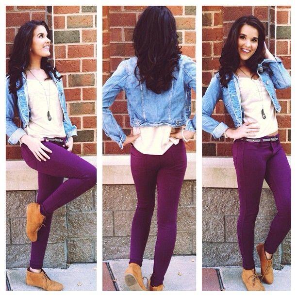 .@Aéropostale | How do you wear your #jeggings?! #fallfashion #backtoschool #trendalert | Webstagram - the best Instagram viewer