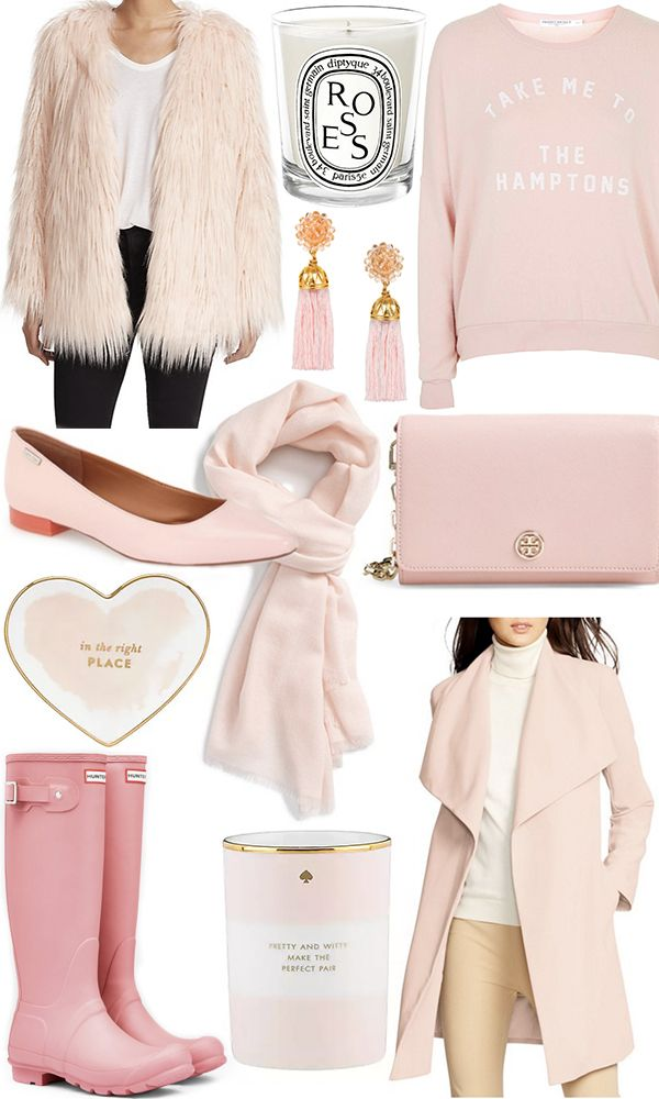 Faux fur coat / Candle / Sweatshirt / Earrings / Flats / Scarf / Bag / Heart dish / Hunters / Candle / Coat This year's Pantone Colors of the Year,Rose Quartz and Serenity, have all the girliest of girls excited, myself included. Rose quartz (aka pale pink) has been a blogger favorite for some time, butnow you can expect to see it pretty much ...