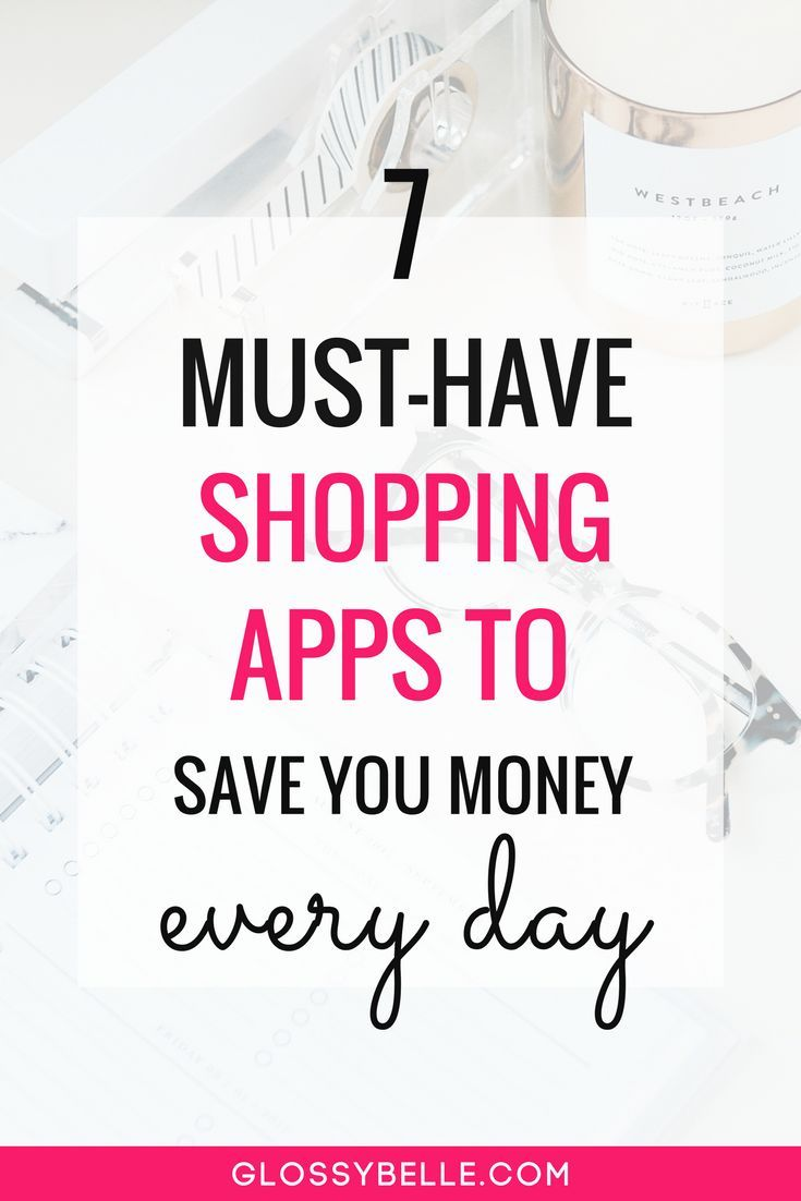 The Best Shopping Apps To Save You Money Every Day // Learn about 7 easy-to-use shopping apps that will conveniently help you save hundreds of dollars per month in this post. Hate couponing and flipping through flyers? These apps are for you! saving money | smartphone apps | save money | frugal | rebates | cash back | cashback