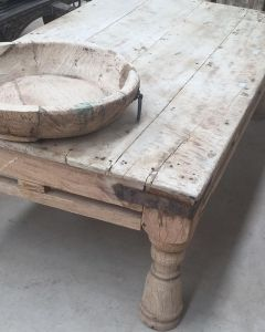 Superb This One Off Beauty Of A Coffee Table Arrived Yesterday. Bleached Timber,  Nice And