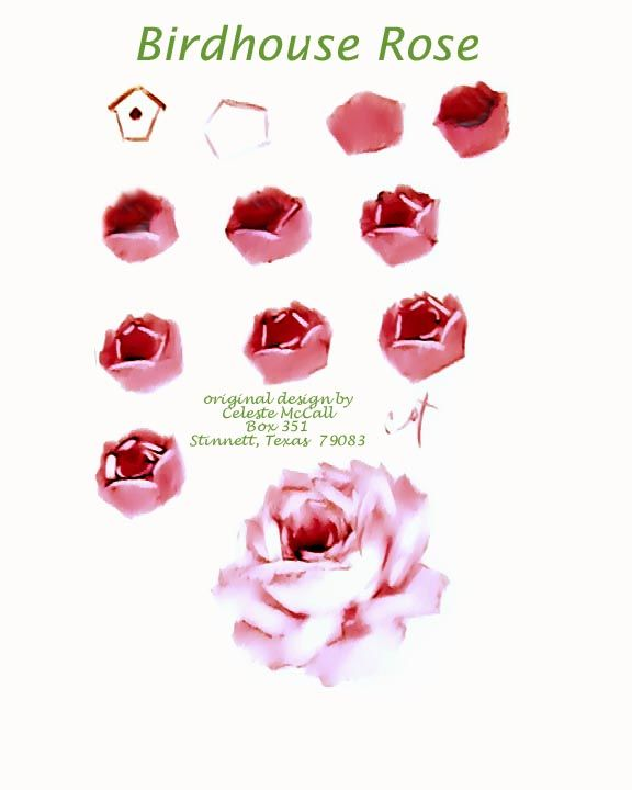 Celeste McCall - Birdhouse rose - Page 1 (576×720)