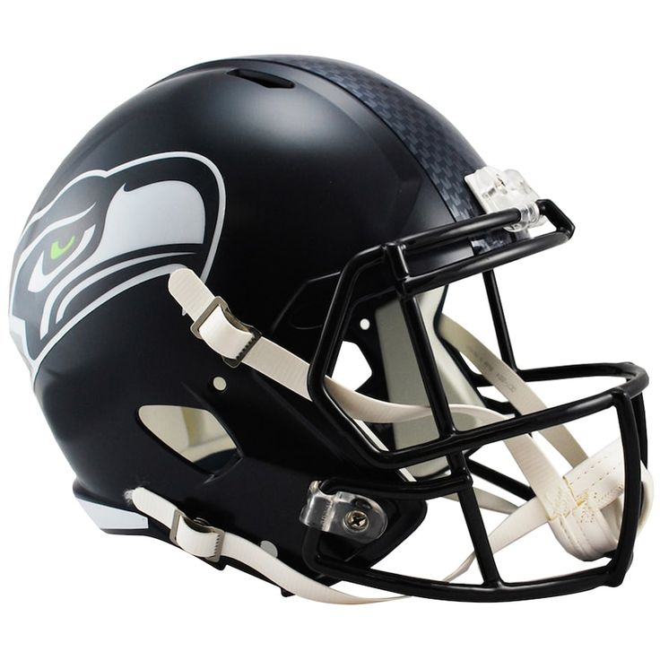 Riddell NFL Seattle Seahawks Speed Replica Helmet, Multicolor
