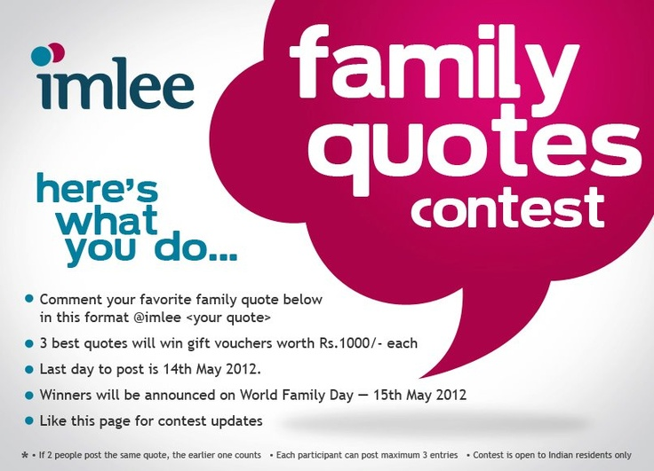 #contest by imlee.com click to go to the #facebook page to participate. All the Best!!!