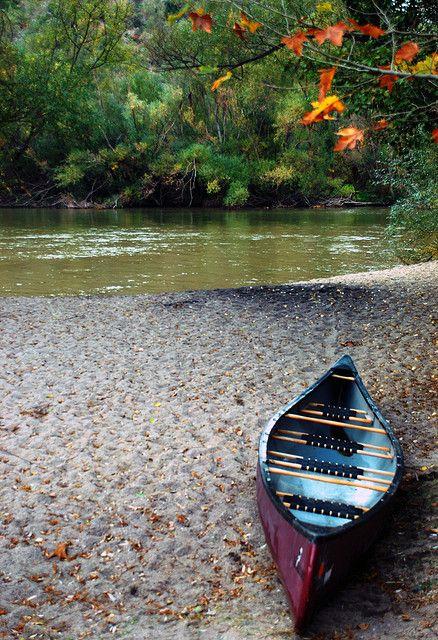 Nestos river, Canoe by Thalia Nouarou, via Flickr