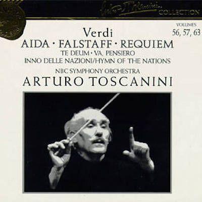 Toscanini începe destul de prost – suntem în direct –, fără să lase să respire minunatele fraze de debut ale viorilor. ...