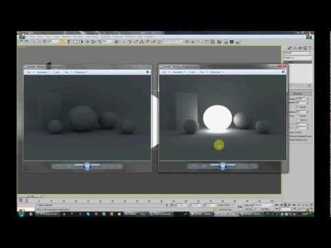 ▶ Vray light map 3Ds max - YouTube