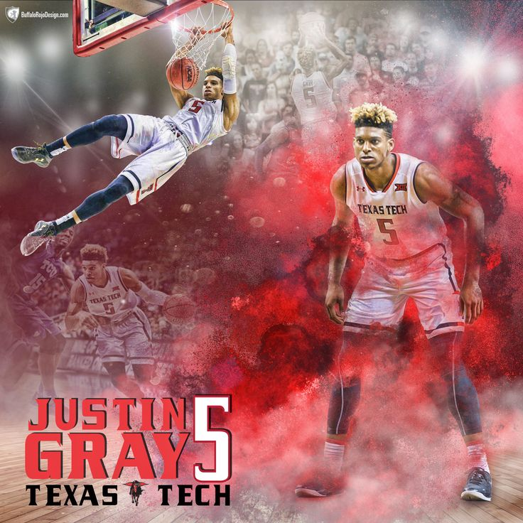 """Check out my @Behance project: """"Texas Tech Basketball-Justin Gray"""" https://www.behance.net/gallery/46286069/Texas-Tech-Basketball-Justin-Gray"""