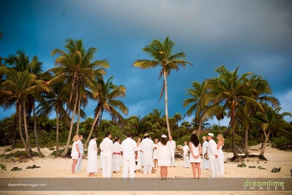Tulum, Mexico!! A great place to get married on the beach in the Yucatan.