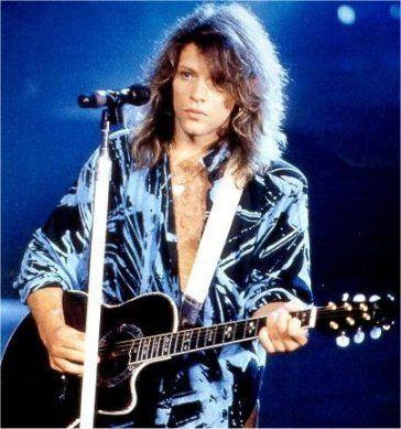 @Michelle Ravencraft Barnhart  Did he or did he not wear this shirt on tour in 1989?  I swear we've seen it up close and personal... *swoon*