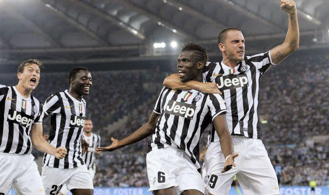 Juventus vs Lazio - Finale Supercoppa Italiana 2013