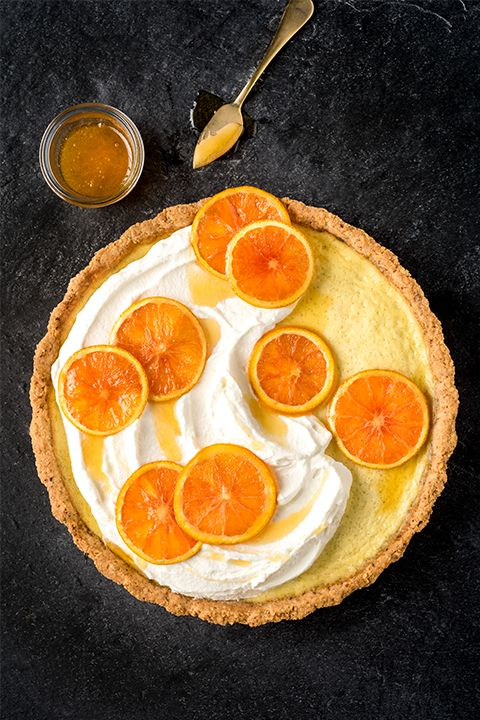 INGREDIENTS BY SAPUTO | For dessert, brunch or an afternoon sweet treat, try our orange, hazelnut and Saputo Ricotta cheese tart. Flavoured with vanilla and served with whipped cream, it's a fresh and light alternative to pie that's sure to impress your guests!