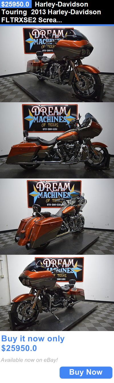 Motorcycles: Harley-Davidson Touring 2013 Harley-Davidson Fltrxse2 Screamin Eagle Road Glide Custom Cvo BUY IT NOW ONLY: $25950.0