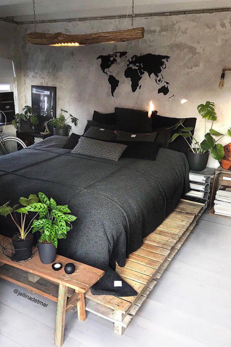 20 Bedroom Designs for a NATURE LOVER   Elcune   Modern bedroom ...