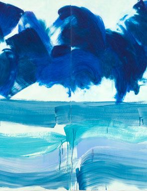 """Stormy Weather"" by Howard Hodgkin"