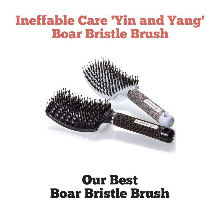 Ineffable Care Boar Bristle Hair Brush
