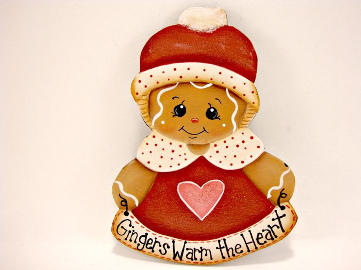"HP Gingerbread Fridge Magnet - Gingers Warm the Heart designed by Pamela House and painted by ""me"" eBay: CherishedAtticTreasures Etsy: ByBrenda'sHand Facebook: Cherished Attic Treasures If you don't see this item listed, send me a message and I'll make one for you!"