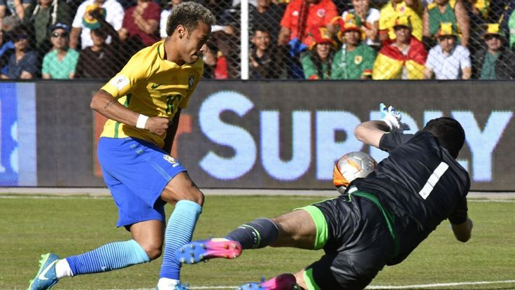 Neymar: Brazil had to cope with 'inhuman' conditions against Bolivia